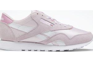 reebok-classic nylons-Women-pink-EG5862-pink-trainers-womens