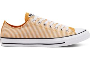 converse-all star ox-womens-yellow-166866C-yellow-trainers-womens