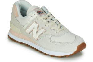 new balance-574 s (trainers) in-womens-pink-wl574say-pink-trainers-womens