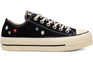 converse-all star ox-womens-black-567994C-black-trainers-womens