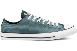 converse-all star ox-womens-blue-166867C-blue-trainers-womens