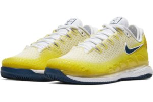nike-court air zoom-womens-yellow-ar8835-700-yellow-trainers-womens