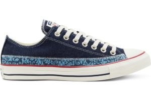 converse-all star ox-womens-blue-167965C-blue-trainers-womens
