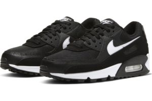 nike-air max 90-womens-black-cq2560-001-black-trainers-womens