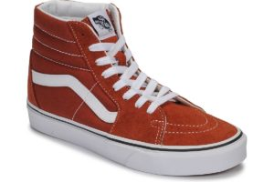 vans-sk8-hi s (high-top trainers) in-womens-brown-vn0a4u3cwk81-brown-trainers-womens