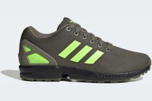 adidas-zx fluxs-mens-green-FV7921-green-trainers-mens