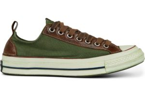 converse-all star ox-womens-green-167407C-green-trainers-womens