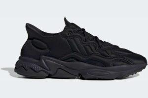 adidas-ozweego techs-mens-black-FU7640-black-trainers-mens
