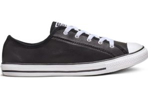converse-all star ox-womens-black-564985C-black-trainers-womens