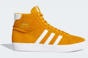 adidas-basket profis-mens-yellow-FW3103-yellow-trainers-mens