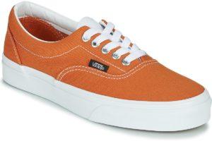 vans-era s (trainers) in-womens-orange-vn0a4u39wz51-orange-trainers-womens