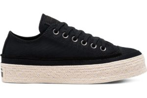 converse-all star ox-womens-black-567685C-black-trainers-womens