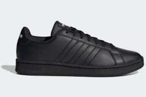 adidas-grand courts-mens-black-EE7890-black-trainers-mens