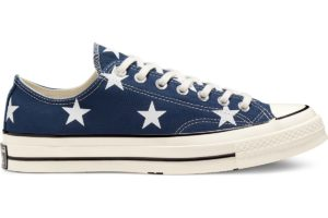 converse-all star ox-womens-blue-167812C-blue-trainers-womens