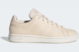 adidas-advantage bases-womens-beige-EE7502-beige-trainers-womens