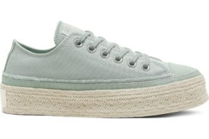 converse-all star ox-womens-green-567907C-green-trainers-womens
