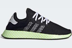 adidas-deerupt runner-mens-black-EG7412-black-trainers-mens