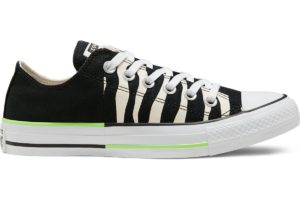 converse-all star ox-womens-black-167667C-black-trainers-womens