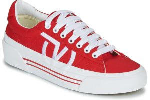 vans-sid ni s (trainers) in-womens-red-vn0a4bnfi7r1-red-trainers-womens