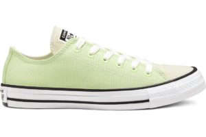 converse-all star ox-womens-green-167647C-green-trainers-womens