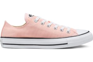 converse-all star ox-womens-pink-167633C-pink-trainers-womens