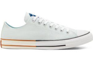 converse-all star ox-mens-blue-167664C-blue-trainers-mens