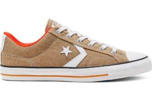 converse-star player-womens-beige-167670C-beige-trainers-womens