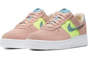 nike-air force 1-womens-pink-cj1647-600-pink-trainers-womens