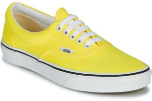 vans-era neon s (trainers) in-womens-yellow-vn0a4u39wt71-yellow-trainers-womens