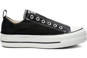 converse-all star ox-womens-black-563456C-black-trainers-womens