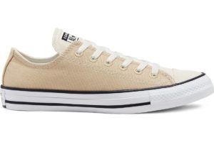 converse-all star ox-womens-beige-167646C-beige-trainers-womens