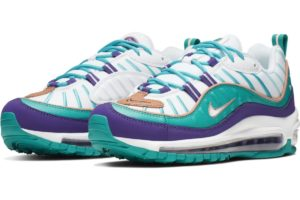 nike-air max 98-womens-green-ah6799-500-green-trainers-womens