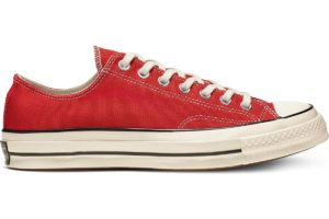 converse-all star ox-womens-red-164949C-red-trainers-womens