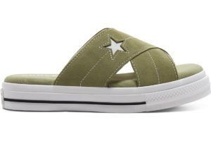 converse-one star-womens-green-567723C-green-trainers-womens