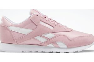 reebok-classic nylons-Women-pink-FW2185-pink-trainers-womens