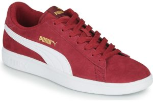 puma-smashs (trainers) in bordeaux-mens-burgundy-364989-29-burgundy-trainers-mens