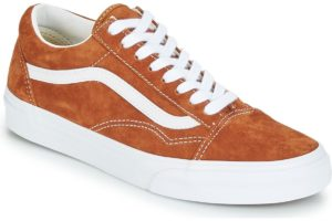 vans-old skool s (trainers) in-womens-brown-va38g1u5k-brown-trainers-womens