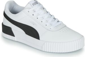 puma-carina s (trainers) in-womens-white-370325-21-white-trainers-womens