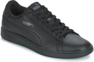 puma-smash v2 ls (trainers) in-mens-black-365215-06-black-trainers-mens