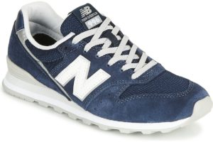 new balance-966 s (trainers) in-womens-blue-wl996clh-blue-trainers-womens