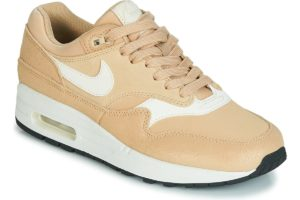nike-air max 1 premium s (trainers) in beige-womens-beige-454746-209-beige-trainers-womens