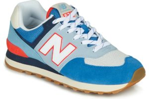 new balance-574 s (trainers) in-womens-blue-ml574sos-blue-trainers-womens