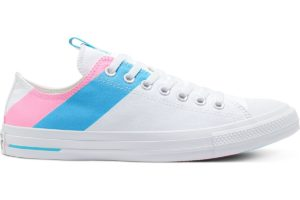 converse-all star ox-womens-white-167760C-white-trainers-womens