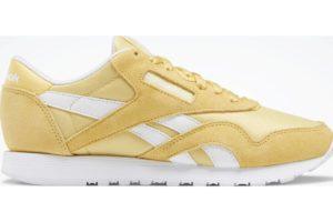 reebok-classic nylons-Women-yellow-FW2183-yellow-trainers-womens