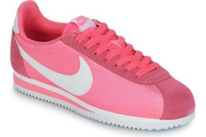 nike-cortez nylon s (trainers) in-womens-pink-749864-608-pink-trainers-womens