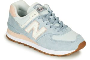new balance-574 s (trainers) in-womens-blue-wl574suo-blue-trainers-womens
