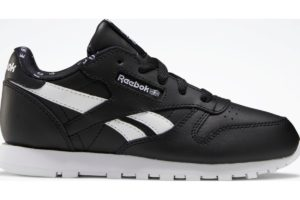 reebok-classic leathers-Kids-black-FW7927-black-trainers-boys