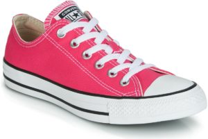 converse-all star ox-womens-pink-164294c-pink-trainers-womens