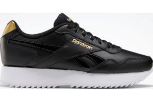 reebok-royal glide ripple doubles-Women-black-FW6715-black-trainers-womens