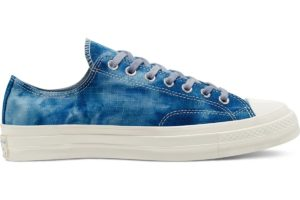 converse-all star ox-mens-blue-167650C-blue-trainers-mens